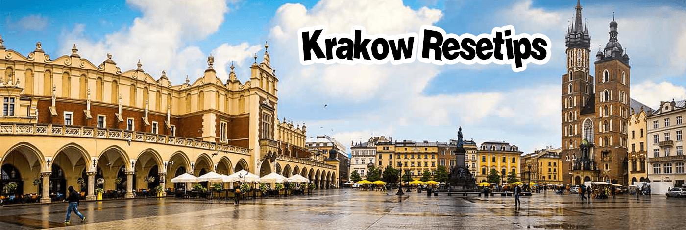 Krakow gamla stan